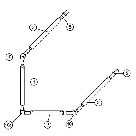 5' x 4' MATCH Goal Spare Parts