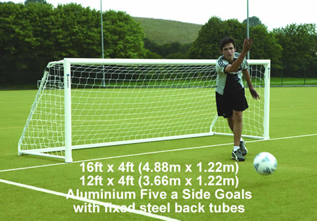Aluminium Five a Side Goals