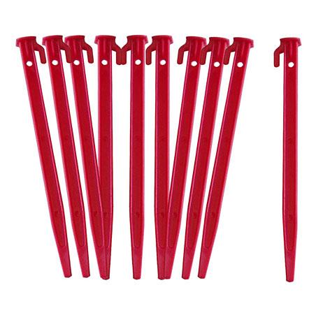 Plastic Net Pegs - Set of 10
