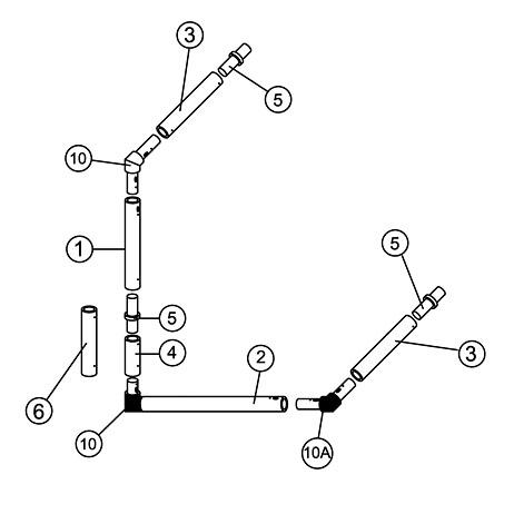 16' x 7' Multi Goal Spare Parts