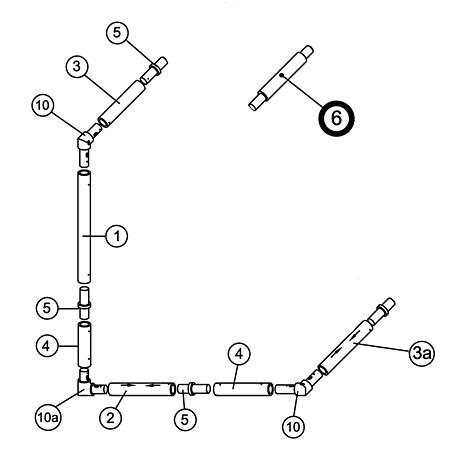 16' x 7' MATCH Goal Spare Parts