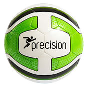 Precision Santos Training Ball - SIZE 4 White/ Lime/ Black