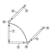 8' x 4' Goal Spare Parts