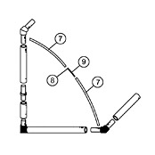 16 x 7 Tension Bar Set