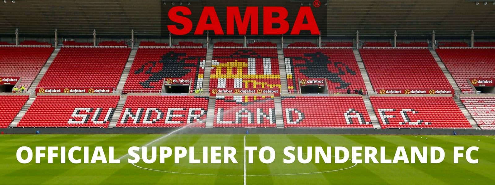 Samba Official Suppier to Sunderland FC
