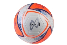 Infiniti Training Ball White/Fluo Orange/Blue