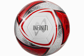 Infiniti Training Ball White/Red/Black