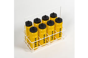 8 Bottle Plastic Coated Wire Carrier