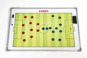 Samba Double Sided Tactic Board 90cm x 60cm including bag