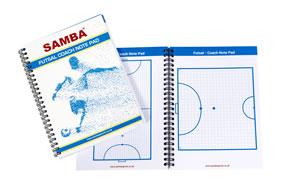 Samba Futsal Coach's Notepad