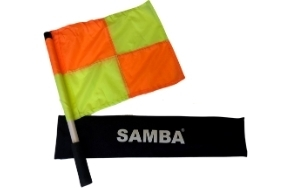 Linesman's Flag and Pole