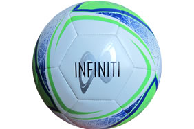 Infiniti Training Ball White/Blue/Green