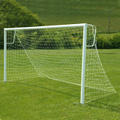 12ft x 6ft Steel 60mm Socketed Goal Package