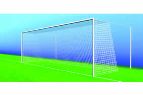 24 x 8 Continental Style nets Two Coloured or All White