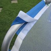 5' x 3' Folding Aluminium Mesh Net with velcro fastening