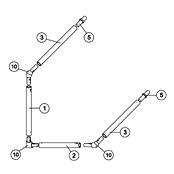 6' x 4' Goal Spare Parts