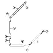 8' x 6' Goal Spare Parts