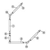 12' x 6' Goal Spare Parts