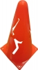 "9"" collapsible marker cone RED"