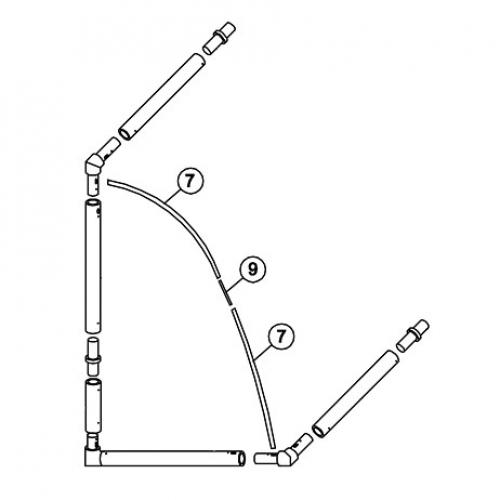 12 x 6 Tension Bar Set