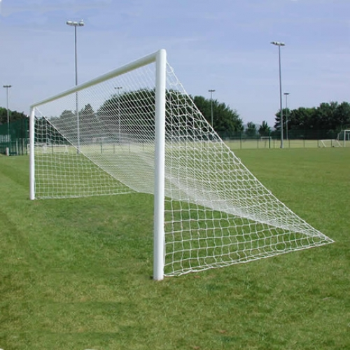 Full Size & Junior Size Quick Release Crossbar Aluminium Football Goals Socketed