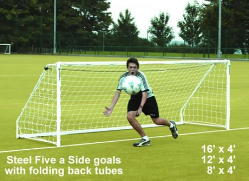 Steel Five a Side Goals