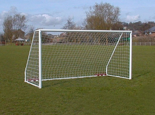 12ft x 6ft Aluminium 80mm Freestanding Goal Package - SINGLE