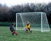 12ft x 6ft Steel 60mm Folding Goal Package