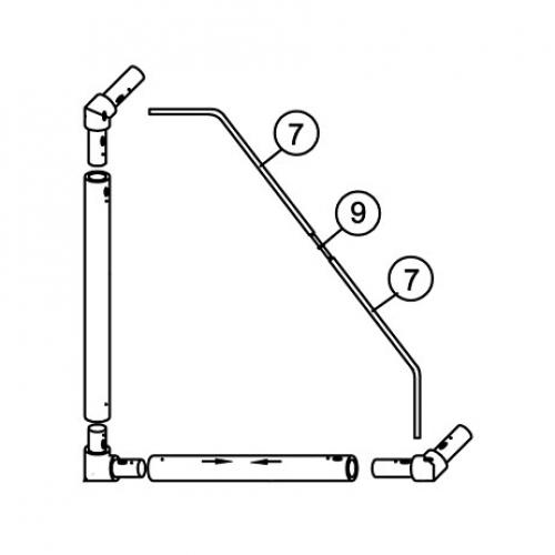 8 x 4 MATCH Tension Bar Set