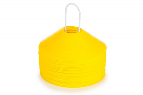 Marker Cones (Set of 50) All Yellow