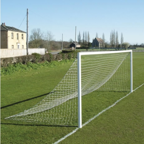 Aluminium 9v9 Socketed Goal with Quick Release Crossbar NO BACK SUPPORTS