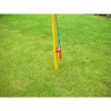 Respect Barrier End Post - With rope hoops