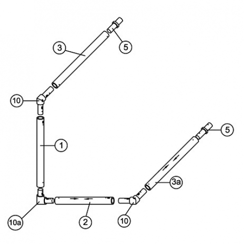 12' x 4' MATCH Goal Spare Parts