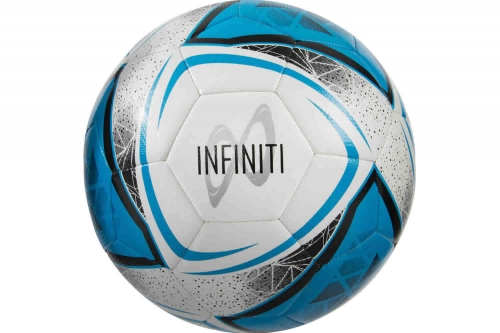 Infiniti Training Ball White/Cyan Blue/Black