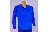 Blue mesh bib