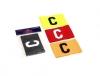 Samba Sports BIG C captains armband available in junior and senior
